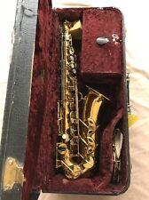 Selmer Balanced Action alto sax from 1936