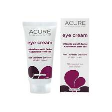 3 X Acure Eye Cream Chlorella Edelweiss Stem Cell 30ml