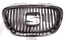 SEAT LEON 05-09 / SEAT ALTEA 04-09 / SEAT TOLEDO 04-09 FRONT GRILLE  WITH CHROME