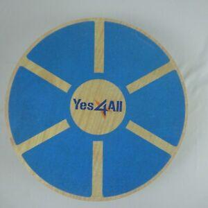 Yes 4 All Wooden Balance Board L6CJ Blue