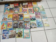 Kids Book Lot 34 paperback& someHardcover   levels 1-5 Elementary Grades Mostly