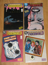 UNDERWORLD COMIC SET #1-4 DC COMICS 1987 NM ROBERT LOREN FLEMING ERNIE COLON
