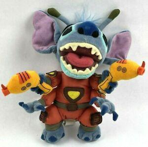 Disney Store Stitch (Holding Ray Guns) Lilo and Stitch Plush Toy