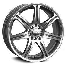 XXR 533 14X6 Rim 4x100/114.3 +35 Machined Wheels Fits Corolla Golf Passat Cabrio