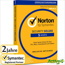 NORTON Security 2019 5 Geräte 2 Jahre |PC,Mac,Android,iOS| Internet Security DE
