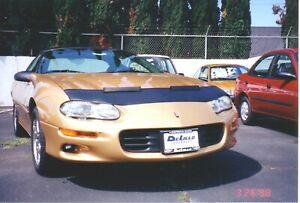 Colgan Sport Hood Bra 1 pc. Fits Chevy Chevrolet Camaro 1998-2002