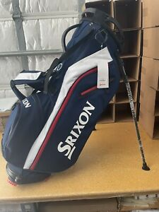 New 2021 SRIXON Z-Stand USA Colors Navy/White Red 4-Way Top Stand Carry Golf Bag