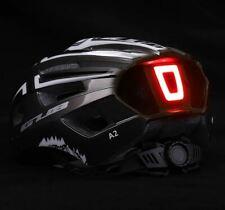 Casco GUB LED Luce posteriore ricaricabile bici bicicletta regolabile 56-59cm