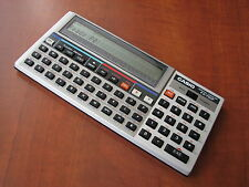 MINT c. Vintage 1985 Casio FX-730P LCD BASIC pocket computer calculator (6962)