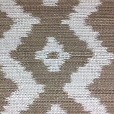 RALPH LAUREN INDOOR OUTDOOR FABRIC COLONSAY IKAT MOCHA 6 YARDS