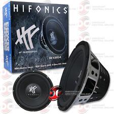 "Hifonics Hfx12D4 12"" Dual 4-Ohm Car Audio Subwoofer 400W Rms"