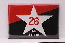 "Cuba Cuban July 26th Movement Che Guevara Fidel Castro Communist Magnet 2"" x 3"""