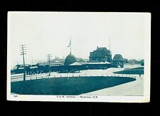 Early Postcard C.G.R. Station Moncton New Brunswick Canada  RR   A9761