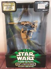 Star Wars Stap And Battle Droid Action Figure. BRAND NEW IN BOX SEALED. REAR !