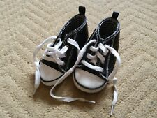 Next Baby Boy Converse Style Star Boot Shoes - Size 3