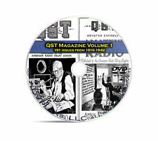 QST Magazine, Volume 1, 191 Classic Old Time Amateur Ham Radio OTR DVD CD C05