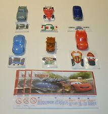Compl. - taux-Disney Cars + 6 BPZ d'Inde