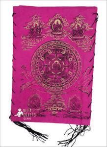 Natural Lokta Square Mandala Paper Lamp Shade NEPAL
