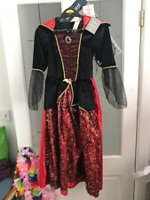NEW Halloween Fancy Dress Up Outfit 7-8Yrs BNWT Girls Clothing Vampires World Bo
