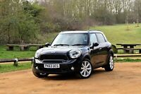2013/63 MINI COUNTRYMAN COOPER S D ALL4 TURBOCHARGED 84K MILES LEATHER CRUISE