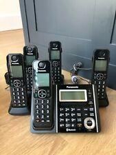 PANASONIC KX-TGF370, With 5 handsets KX-TGFA30 Black with Bluetooth
