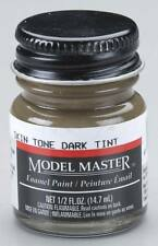 Testors Model Master Dark Skin Tone 1/2 oz Enamel Paint 2002 TES2002
