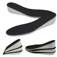 Unisex Height Taller Increase Insoles Heels Lift Insert Shoe Pads Rising Cushion