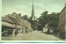 Main Street Ashover Derbyshire unused 1920s postcard