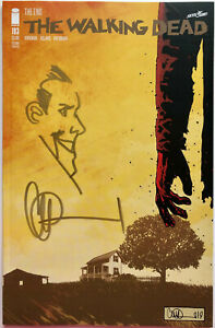 WALKING DEAD #193 w/NEGAN REMARQUE & SIGNED BY CHARLIE ADLARD 2ND PRINT
