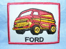 Vintage Old Sew On Patch Ford Van Advertising RARE Embroidered Badge