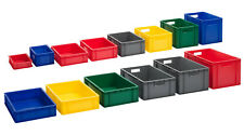 Eurobox | Stapelbox | Lagerbehälter | Kunststoffboxen | 5 Farben | 18 Größen