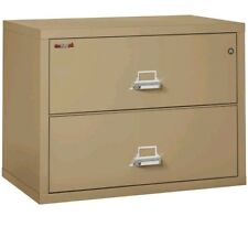 FireKing Fireproof 2-Drawer Lateral File Cabinet Sand 2-3822-CSA Brand new