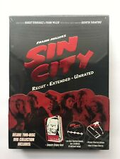 Sin City * Dvd 2005 * Special Edition Recut Extended Unrated * w/ graphic novel
