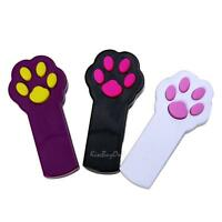 Funny Pet Cat Dog Interactive Sport Automatic Red Laser Pointer Exercise Toys