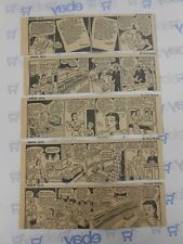 Lot of 5 Smilin' Jack by Zack Mosley Daily Comic Strips July 17th-21st, 1945
