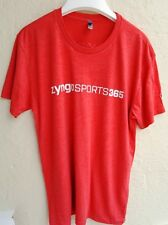 Mens Quality NEXT LEVEL Apperel RED T SHIRT Top - LARGE