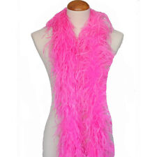 Hot Pink 3ply Ostrich Feather Boa Scarf Prom Halloween Costumes Dance Decor
