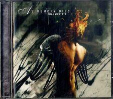 AS MEMORY DIES Transmutate CD EXCELLENT