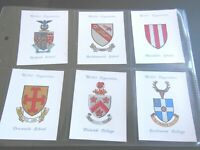 1933 Wills coat of ARMS OF PUBLIC SCHOOLS 2nd series cards Tobacco Cigarette