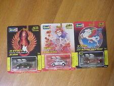 Revell Grateful Dead VW, Jimi Hendrix Beetle, Steve Miller Mustang Stanley Mouse