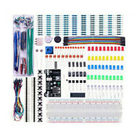 Basic Electronic Components Tool Kit For Arduino Building Projects + Breadboard