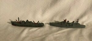 Tootsietoy Lead Toy Ships