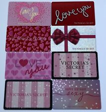 Lot 8 Victorias Secret Collectible Gift Cards No Value Love Angel Happy Birthday