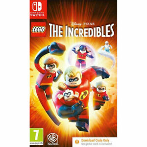 LEGO The Incredibles NINTENDO SWITCH New and Sealed