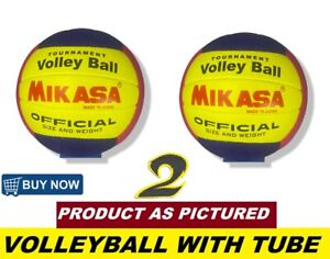 2 PCS Outdoor Soft Play Volleyball Ball Game Training Official Size and Weight