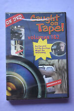 Caught on Tape Vols. 1 & 2 (DVD, 2000) BRAND NEW!!