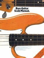 Bass Guitar Scale Manual