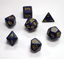 Polyhedral 7-Die Chessex Dice Set - Speckled Twilight CHX 25366