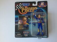 Nascar winners circle collectible Rusty Wallace driver model and card