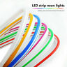 1-5M LED Strip 12V Neon Flex Rope Light Waterproof Flexible Outdoor Lighting HOT